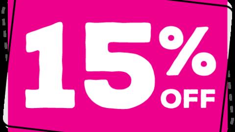 15% לקניה הראשונה ב iHerb